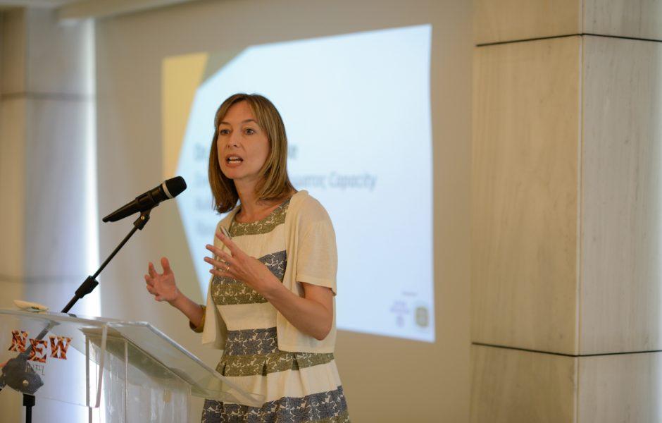 Jennifer Clarke, Συντονίστρια Προγράμματος Ενδυνάμωσης ΜΚΟ, Ίδρυμα Μποδοσάκη