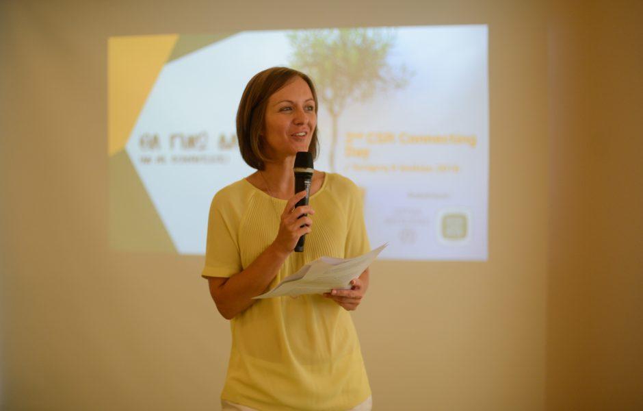 Μαρία Φωλά, Communications Officer, Ίδρυμα Μποδοσάκη