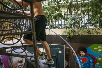 Η ζωή στον ξενώνα 'Ίριδα'