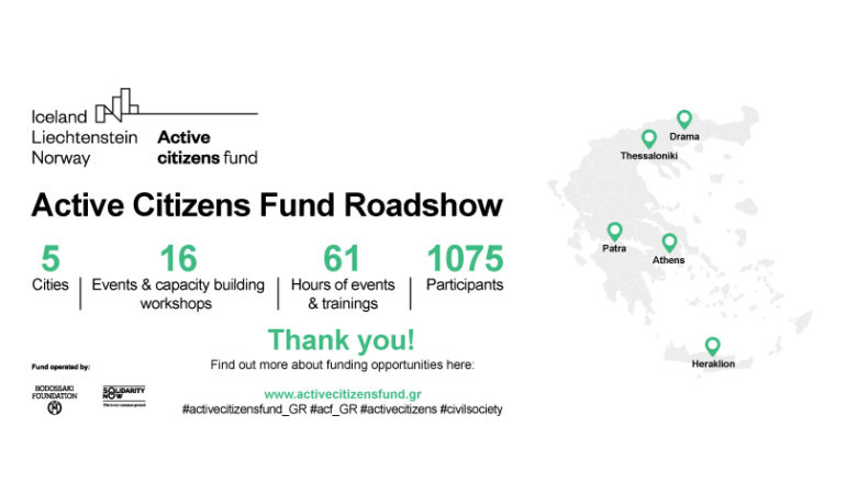 Active Citizens Fund Roadshow
