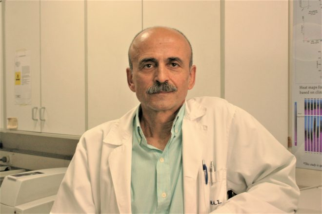 Dr Konstantinos Baxevanis, awarded with the scientific award in 1994