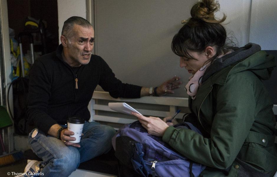 Ο Τάσος Σμετόπουλος, ιδρυτής της οργάνωσης STEPS