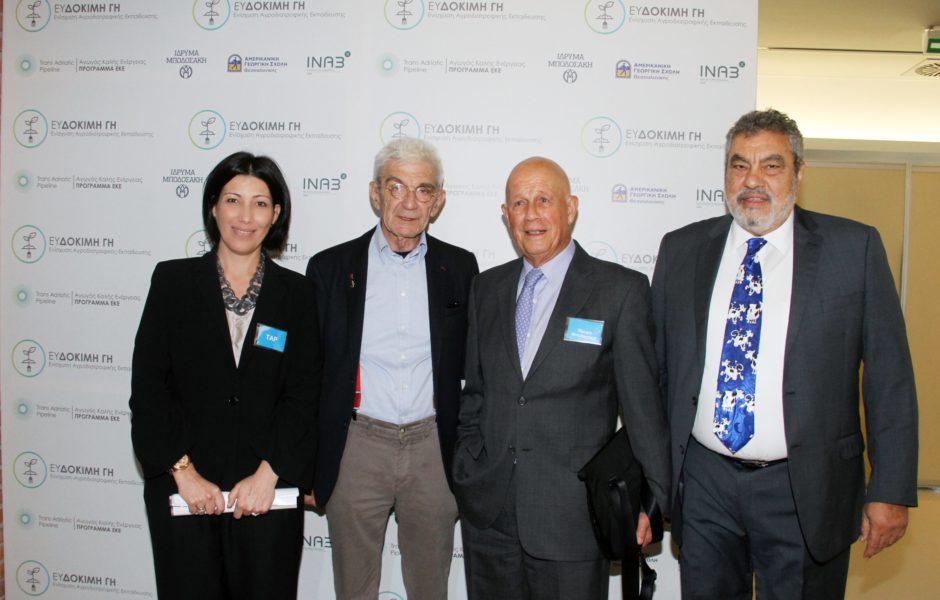 Αγροτικό Πρόγραμμα «ΕΥΔΟΚΙΜΗ ΓΗ» €1 εκατ. από τον ΤΑΡ, το Ίδρυμα Μποδοσάκη, την ΑΓΣ και το ΕΚΕΤΑ