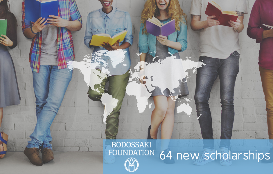 Bodossaki Foundation announces 64 new scholarships for postgraduate, PhD and post-doctoral studies